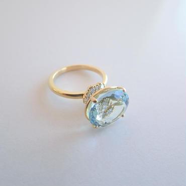 grace ring(アクアマリン)