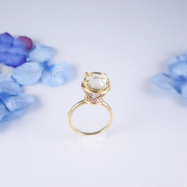 Jewel Ring (レモンクォーツ)