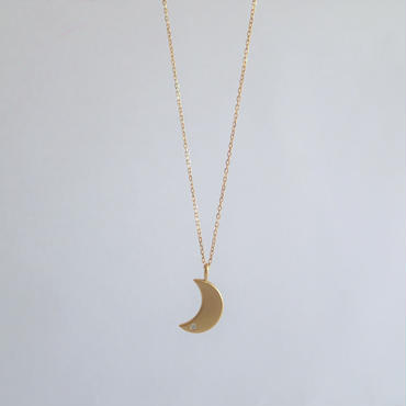 New moon pendant(チェーン50㎝)