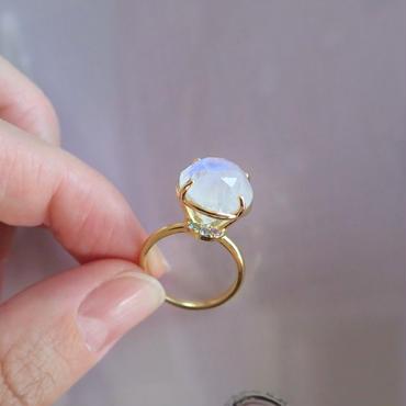 Jewel Ring  L (ムーンストーン)