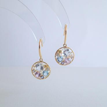 Water color earrings(Pastel)