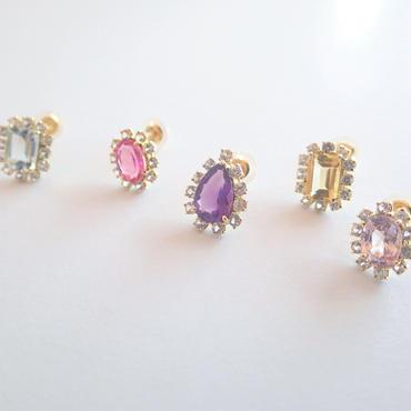 Sparkle earrings(シングル販売・セット販売)