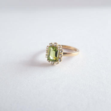 Sparkle ring(ペリドット)