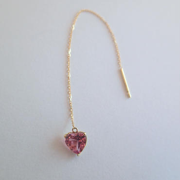 amulet earrings  (ロードライトガーネット)