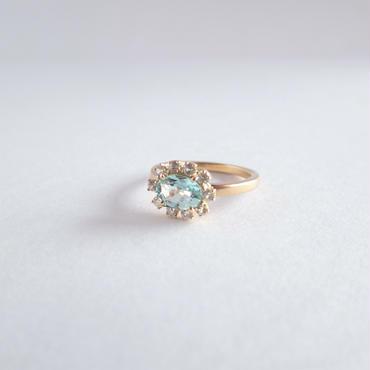 Sparkle ring(グリーンベリル)