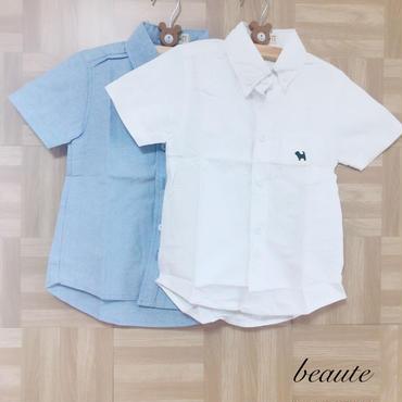 シンプル キッズシャツ
