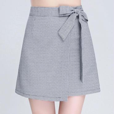 【予約】チェック柄ミニスカート