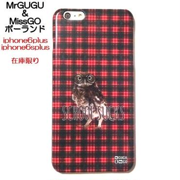 MrGUGU&MissGO ポーランドの可愛いiphone6plusケース 梟のかわいいiphone6splusケース タータンチェック