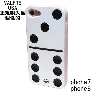 Valfre iphone8 iphone7 ケース シリコン DOMINO 3D IPHONE CASE