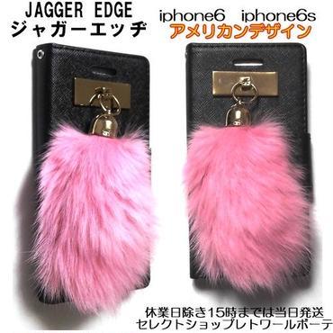 JAGGER EDGE お洒落な手帳型iphone6ケース iphone6sケース ラグジュアリーでお洒落なiphoneケース レザー製 スマホケース