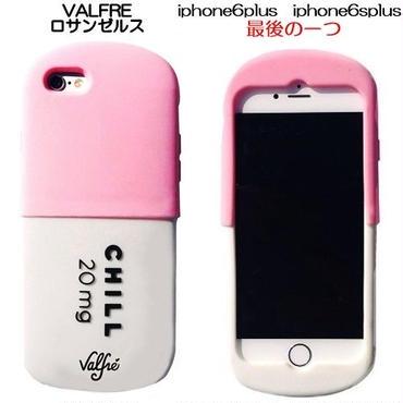 あと1個 Valfre ロサンゼルスの可愛いiphone6splusケース チルピルお薬のiphone6plusのシリコンカバー ピンク
