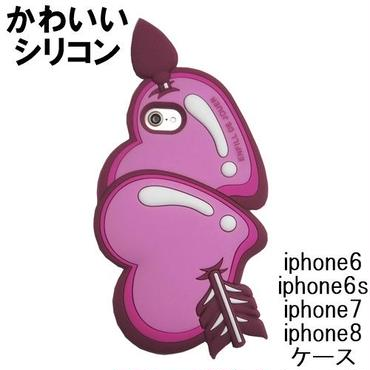 ENFILL iphone8 iphone7 iphone6s iphone6 ケース シリコン かわいい ハート