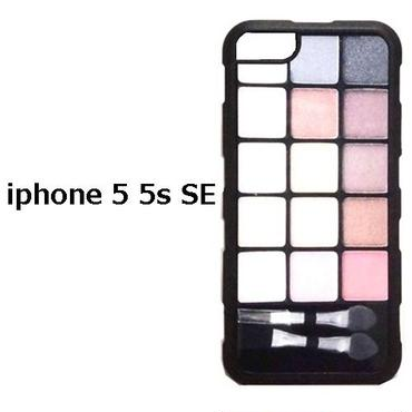 アメリカ の アイメイク プリント Makeup Kit iphone 5 5s SE case アイフォン ファイブ エス エスイー iphone5se iphone5s ケース おもしろい