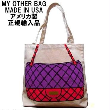 トートバッグ キャンバス My Other Bag マイアザーバッグ JACKIE FUCHSIA RED made in usa 正規品 新作