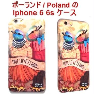 MrGUGU&MissGO ミスターググアンドミスゴー ポーランド の 鳥の恋 True love phone case iphone 6 6s アイフォン シックス エス ケース 面白 海外
