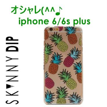 skinnydip スキニーディップ ロンドン の フルーツ パイン IPHONE 6 / 6S PLUS FRUITY PINEAPPLE CASE アイフォン シックス エス プラス カバー 海外