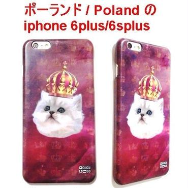 MrGUGU&MissGO ミスターググアンドミスゴー ポーランド ネコ King cat phone case iphone 6plus/6splus アイフォン シックス プラス ケース 海外