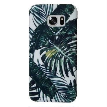 Lemur ヨーロッパ デザイン ヤシの葉 PALM LEAF galaxy s7 edge case ハードケース 人気上昇中 ギャラクシーS7エッジケース ヤシの木 海外 ブランド