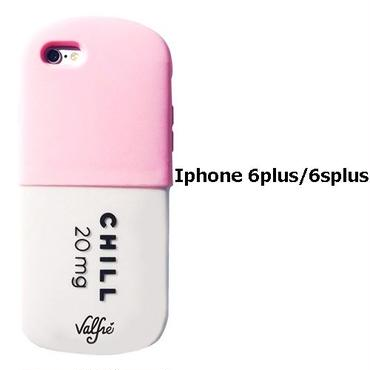 Valfre ヴァルフェー 立体 CHILL PILL 3D IPHONE 6plus / 6Splus CASE PINK iphone6plus ケース シリコン おもしろ ソフト ブランド