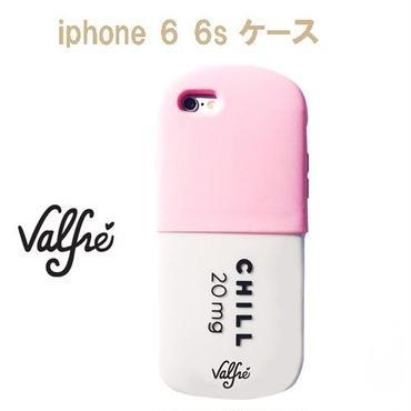 Valfre ヴァルフェー 立体 CHILL PILL 3D IPHONE 6 6S CASE PINK iphone6 ケース シリコン おもしろ おしゃれ ブランド