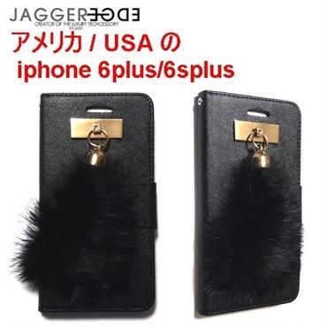 JAGGER EDGE ジャガーエッジ アメリカ  ウォレット カード入れ Butterfly smart wallet gold bunny charm iphone 6plus/6splusケース