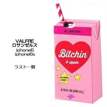 あと一個 Valfre ロサンゼルスの可愛いiphone6sケース かわいいiphone6ケース シリコンカバーのソフトタイプ