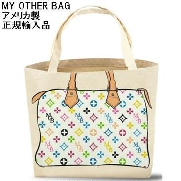 My Other Bag マイアザーバッグ トートバッグ ZOEY MULTI WHITE エコバッグ 布製 アメリカ製 キャンバス 正規輸入品