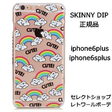スキニーディップ SKINNYDIP IPHONE 6 PLUS / 6S PLUS GOOGLY RAINBOW CASE かわいい 目玉 正規品 海外 ブランド