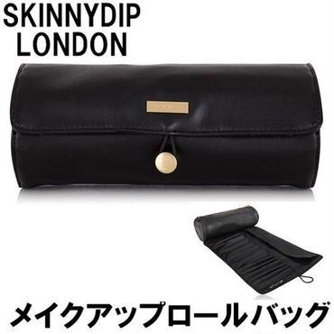 skinnydip スキニーディップ メイクアップロールバッグ Luxe Make Up Roll メイクブラシ 収納 持ち運び ブラック