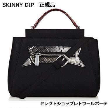 skinnydip スキニーディップ BLACK SNAKE MINI BUG ブラック スネーク バッグ 海外 ブランド