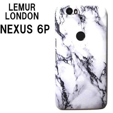 Lemur Nexus 6P ケース ネクサス6P nexus6p イギリス 大理石柄 ハード スマホケース Android カバー