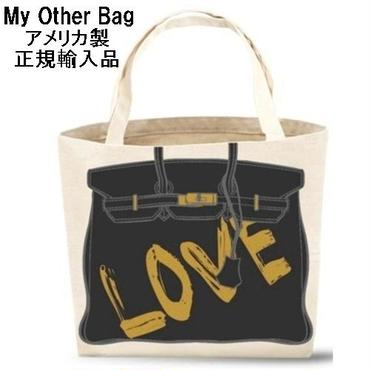 My Other Bag マイアザーバッグ AUDREY LOVE トートバッグ アメリカ製 正規品 ラブ エコ レジカゴ キャンバス