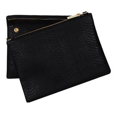 SKINNYDIP ツインショルダーバッグ 斜めがけ バック ブラックカラー スネーク柄 レディース メンズ おしゃれ 鞄 海外 ブランド