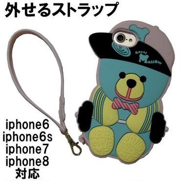 アウトレット Candies iphone8 iphone7 iphone6s iphone6 ケース シリコン クマ