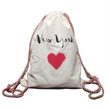 Bag all リュック 布製 ピンク ハート バックパック ショルダー たためる 軽量 レディース 女の子 リュックサック 旅行 海外ブランド