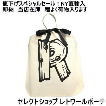 バッグオール bag-all トラベル小物 LETTER BAG R コットンプリントバッグ エコバッグ 安い