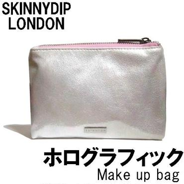 skinnydip スキニーディップ メイクアップポーチ Pearlescent Make Up Bag ホログラム 小物入れ ファスナー