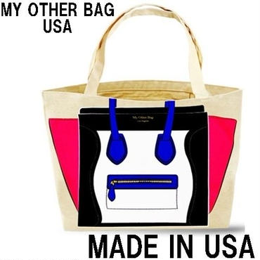 My Other Bag マイアザーバッグ トートバッグ MADISON BPB キャンバス エコバッグ ピンク 丈夫 正規輸入品 アメリカ製
