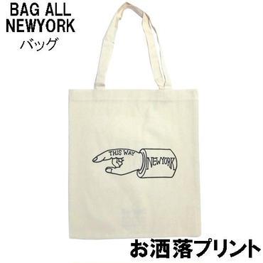 Bagall バッグオール トートバッグ NEW YORK HAND TOTE エコバッグ 軽い 布 おしゃれ レディース メンズ