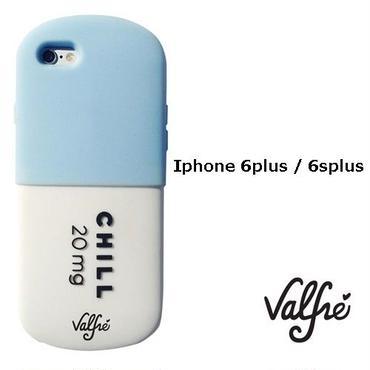 Valfre ヴァルフェー 立体 CHILL PILL 3D IPHONE 6plus/6Splus CASE BLUE iphone6splus ケース シリコン おもしろ おしゃれ ブランド