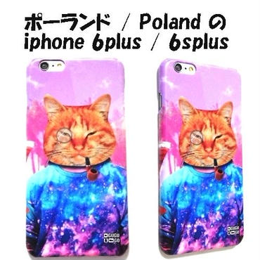 MrGUGU&MissGO ミスターググアンドミスゴー ポーランド 猫 Like a boss phone case iphone 6plus/6splus アイフォン シックス プラス ケース