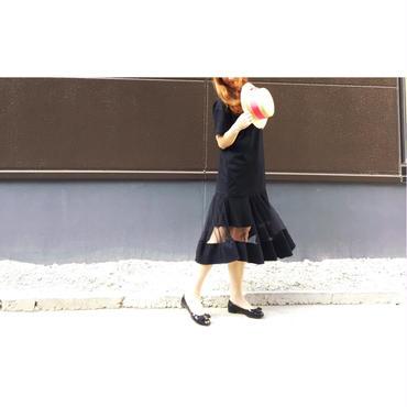 シースルー裾