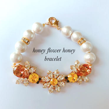 honey flower honey bracelet