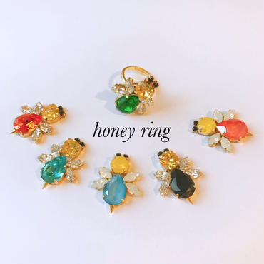 Honey or  flower ring