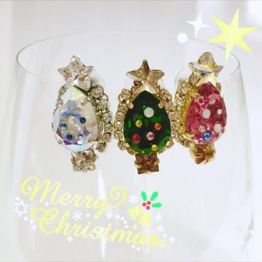 Christmas tree(イヤリング)