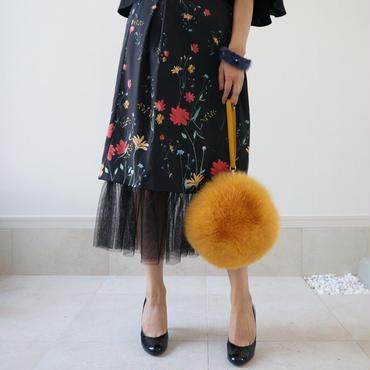 Fox fur bag
