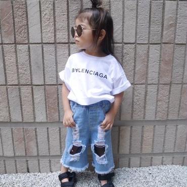 【kids】B∀LENCIAGA  t-shirt
