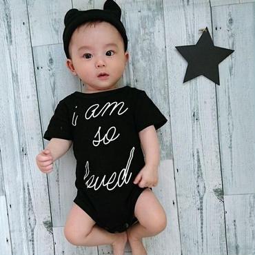【baby】ベビーロンパース