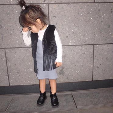 【kids】フリンジファーベスト