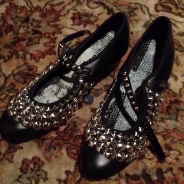 katz london ballet shoes studded